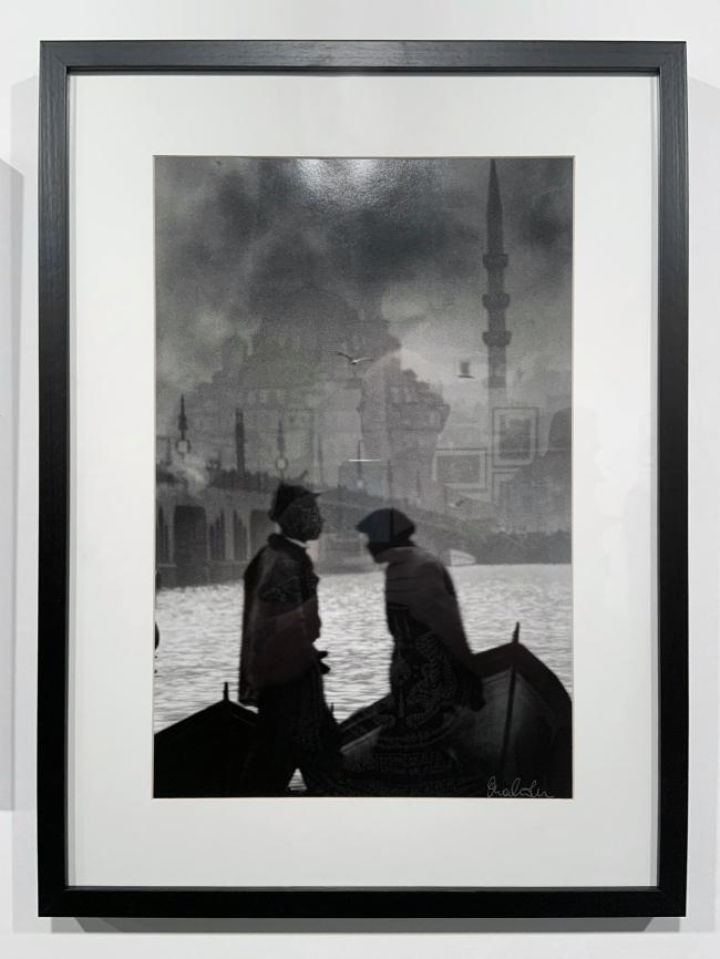 Ara Güler (Turkish, 1928-2018) 'Persembe Pazan, Karaköy [Thursday Market, Karaköy]' (installation view) 1957