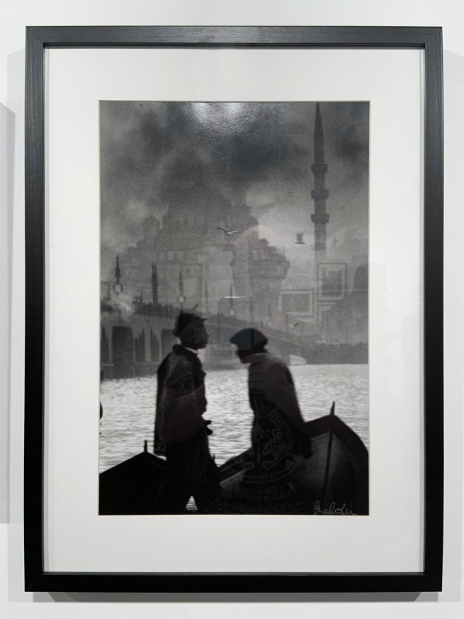 Ara Güler (Turkish, 1928-2018) 'Persembe Pazan, Karaköy [Thursday Market, Karaköy]' (installation view) 1957