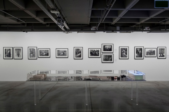 Installation view of the exhibition 'Ara Güler: Two Archives, One Selection: Tracing Ara Güler's Footsteps in Istanbul' at the Istanbul Museum of Modern Art