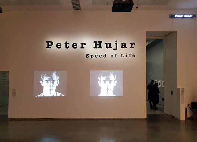 Installation view of the exhibition 'Peter Hujar: Speed of Life' at Jeu de Paume, Paris