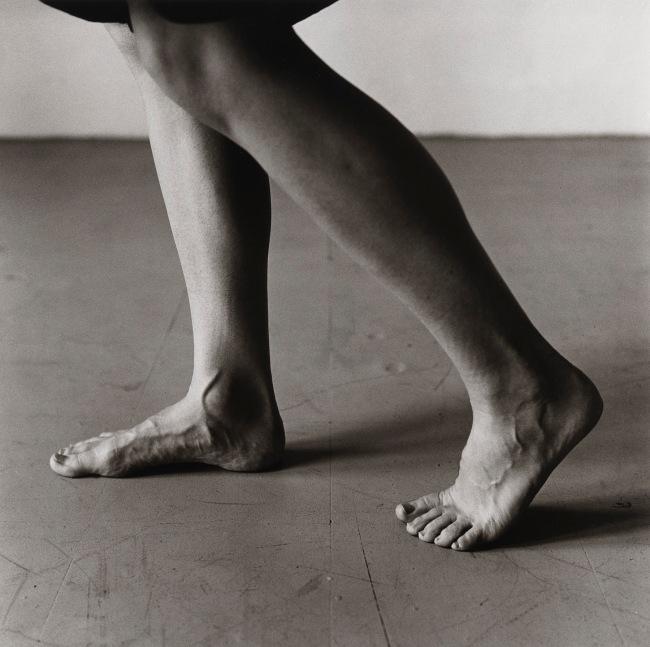 Peter Hujar (American, 1934-1987) 'Dana Reitz's Legs, Walking' 1979