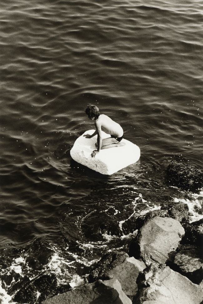 Peter Hujar (American, 1934-1987) 'Boy on Raft' 1978