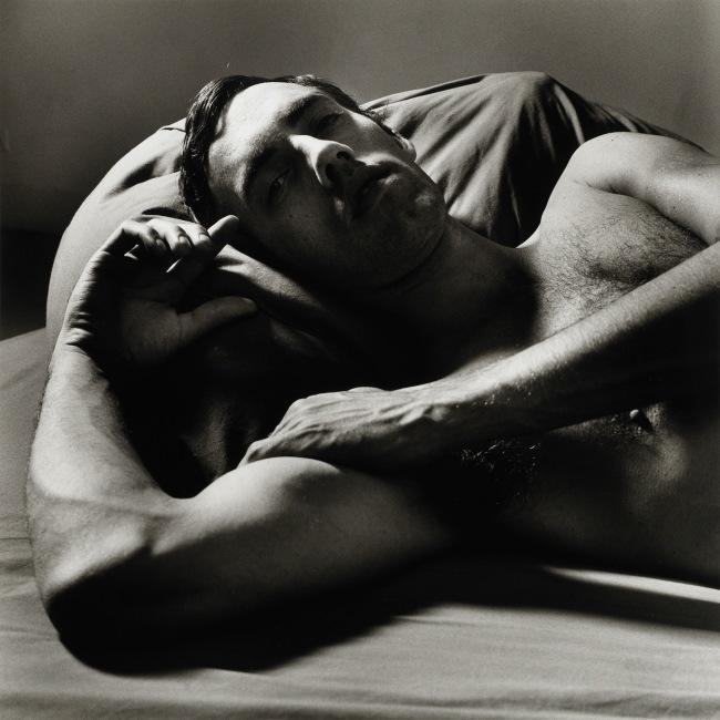 Peter Hujar (American, 1934-1987) 'David Wojnarowicz Reclining (2)' 1981