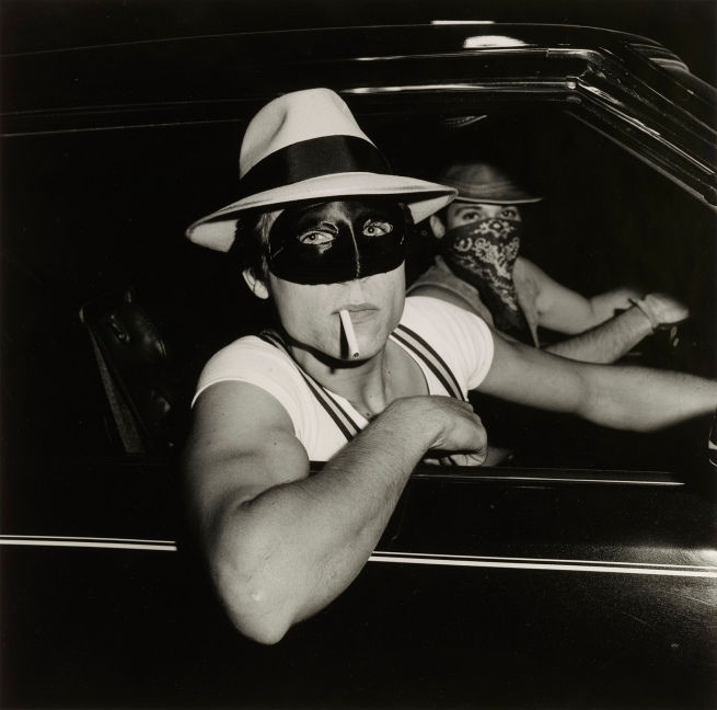 Peter Hujar (American, 1934-1987) 'Boys in Car, Halloween' 1978