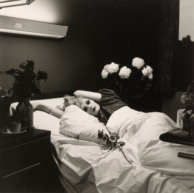 Peter Hujar (American, 1934-1987) 'Candy Darling on her Deathbed' 1973
