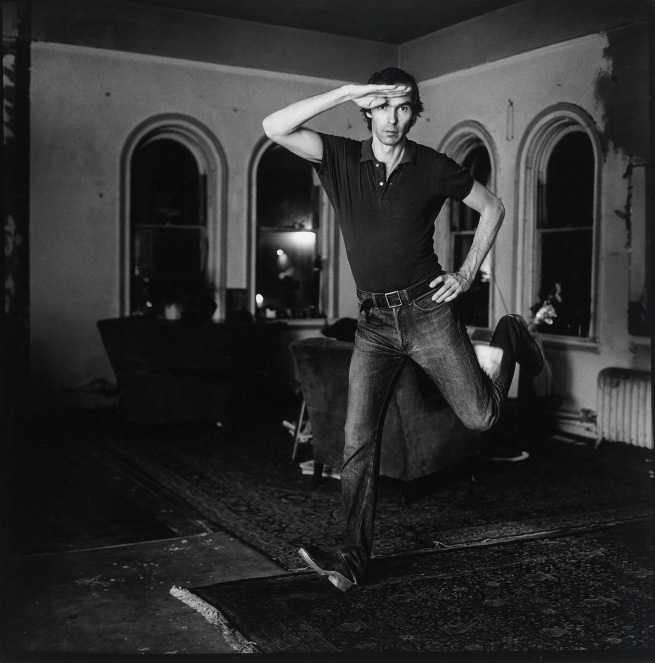 Peter Hujar (American, 1934-1987) 'Self-Portrait Jumping (1)' 1974