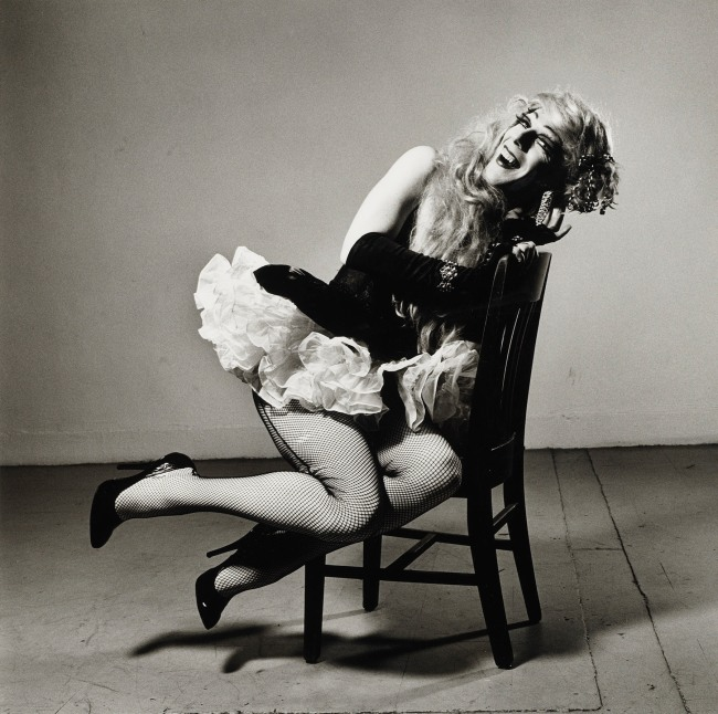Peter Hujar (American, 1934-1987) 'Ethyl Eichelberger as Minnie the Maid' 1981