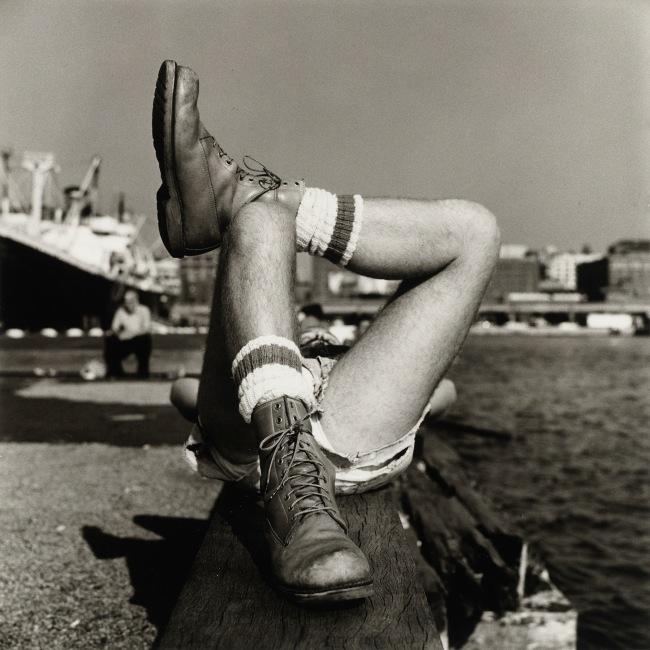 Peter Hujar (American, 1934-1987) 'Christopher Street Pier (2)' 1976