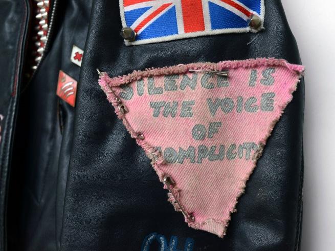 Marcus Bunyan. 'Punk Jacket' c. 1989-1991 (detail)