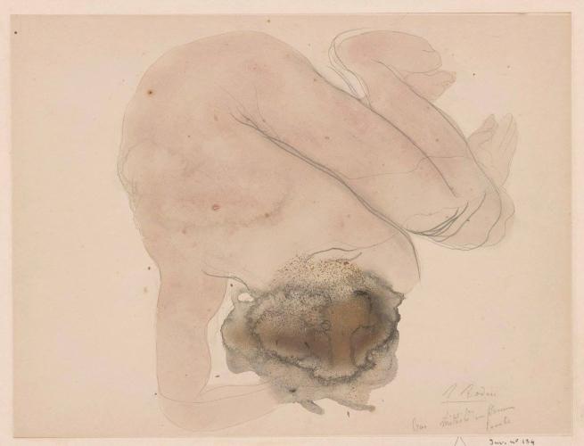 Auguste Rodin. 'Lucifer' c. 1900