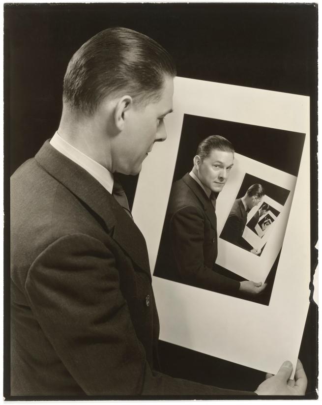 John F. Collins (American, 1888-1990) 'Multiple Self-Portrait' 1935