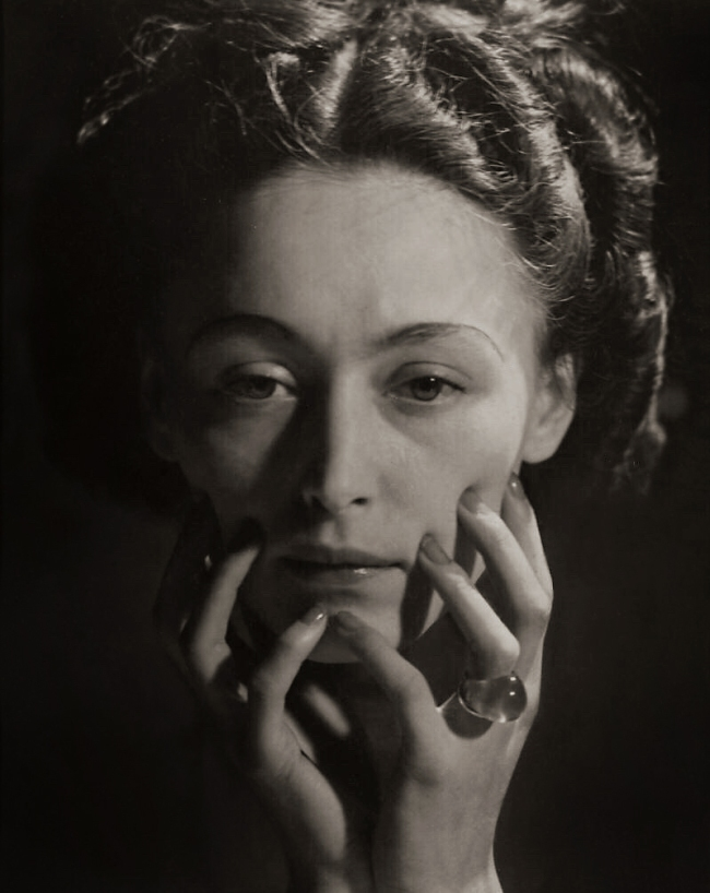 Dora Maar (French, 1907-1997) 'Portrait of Nusch Éluard' 1935