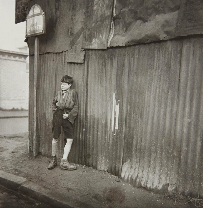 Dora Maar (French, 1907-1997) 'Street Boy on the Corner of the rue de Genets' 1933