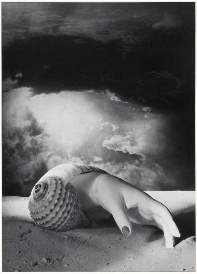 Dora Maar (French, 1907-1997) 'Untitled (Hand-Shell)' 1934