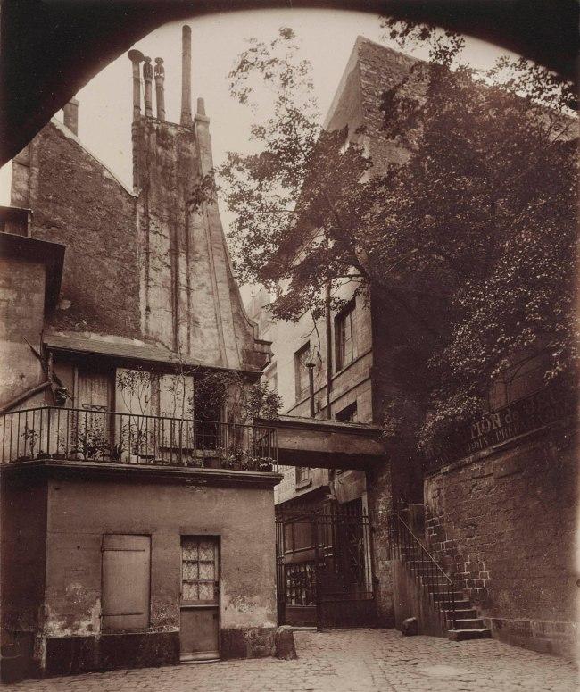 Eugène Atget (French, 1857-1927) 'Cour de Rouen' 1898