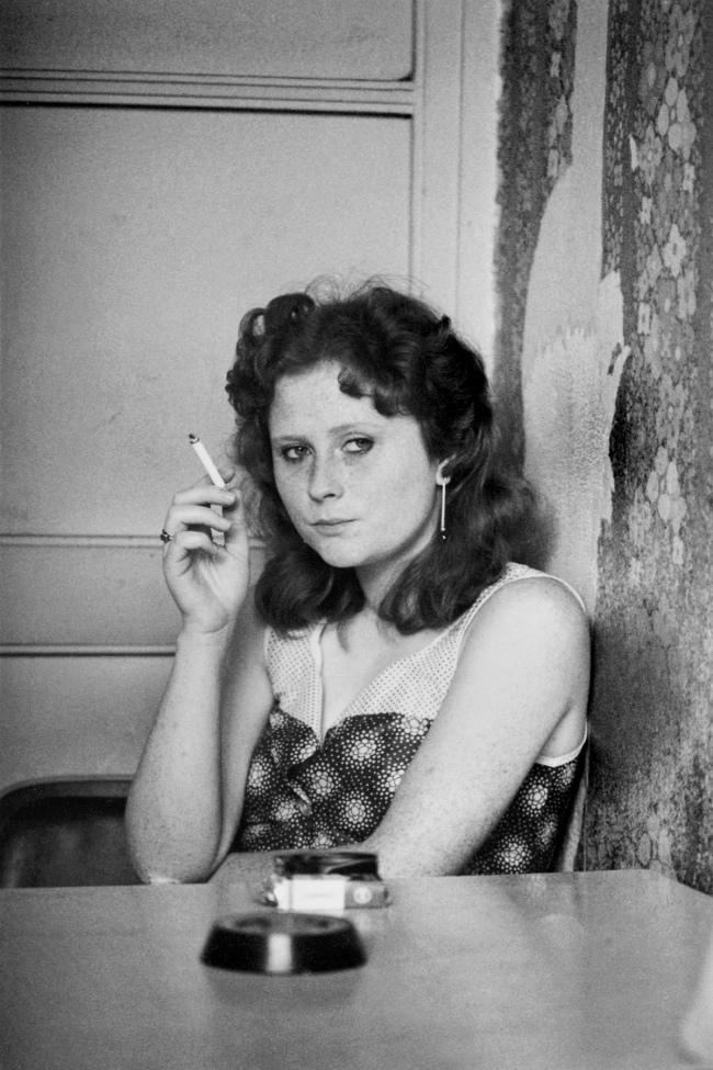 Helga Paris (German, born Poland, 1938) 'Frauen im Bekleidungswerk Treff-Modelle' 1984