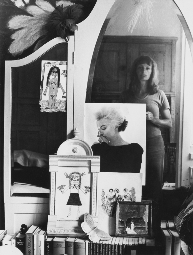 Helga Paris (German, born Poland, 1938) 'Selbst im Spiegel' (Self-Portrait in the Mirror) 1971