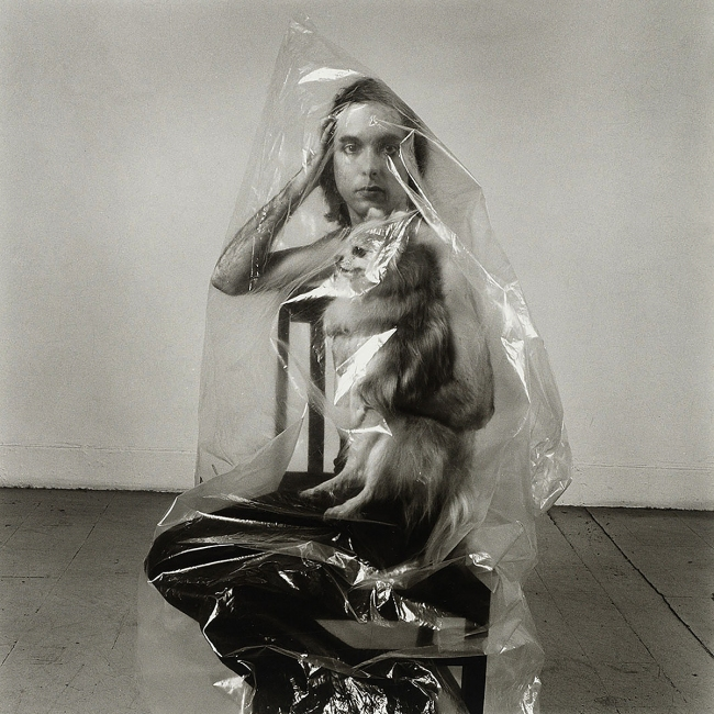 Peter Hujar (American, 1934-1987) 'Beauregard Under Plastic (1)' 1966
