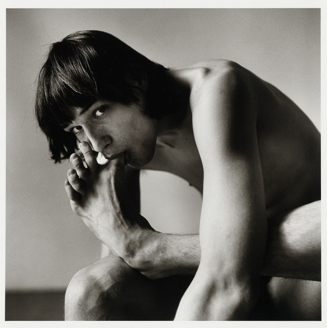 Peter Hujar (American, 1934-1987) 'Daniel Schook Sucking Toe (Close-up)' 1981