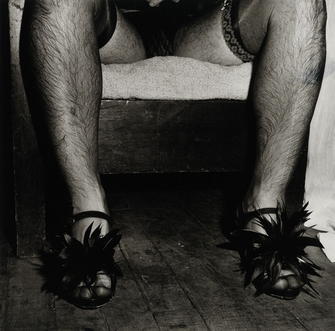 Peter Hujar (American, 1934-1987) 'Randy Gilberti, High Heels, Halloween' 1980