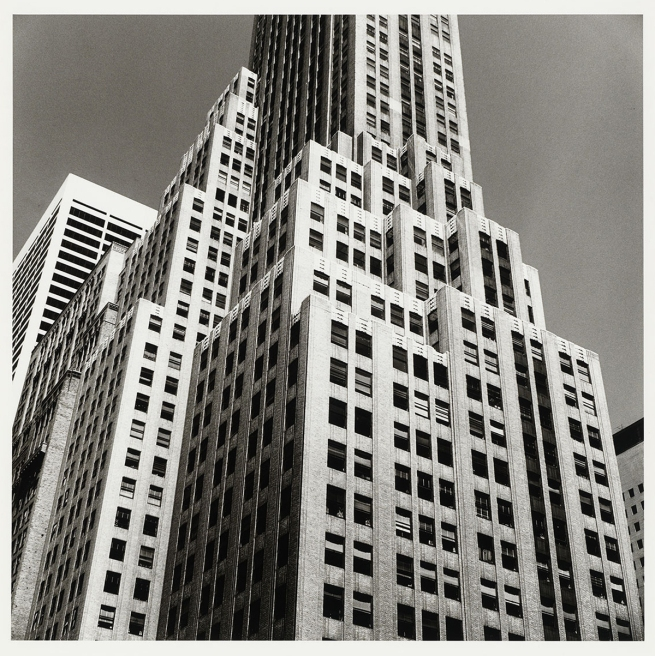 Peter Hujar (American, 1934-1987) 'Rockefeller Center (2)' 1976