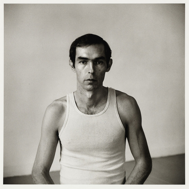 Peter Hujar (American, 1934-1987) 'Self Portrait in White Tank Top' 1975