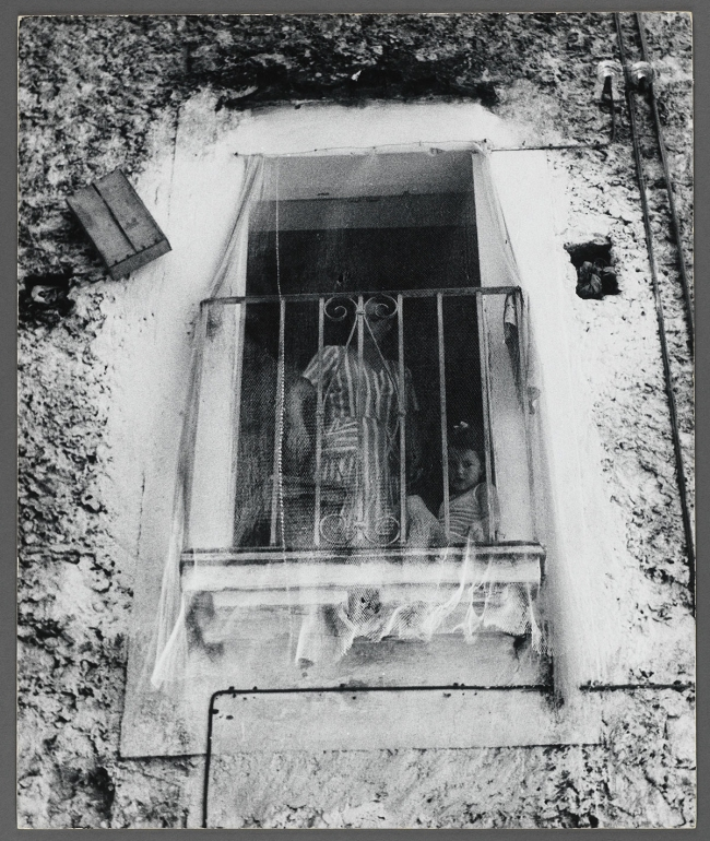 Peter Hujar (American, 1934-1987) 'Woman and Girl in Window Italy' c. 1963
