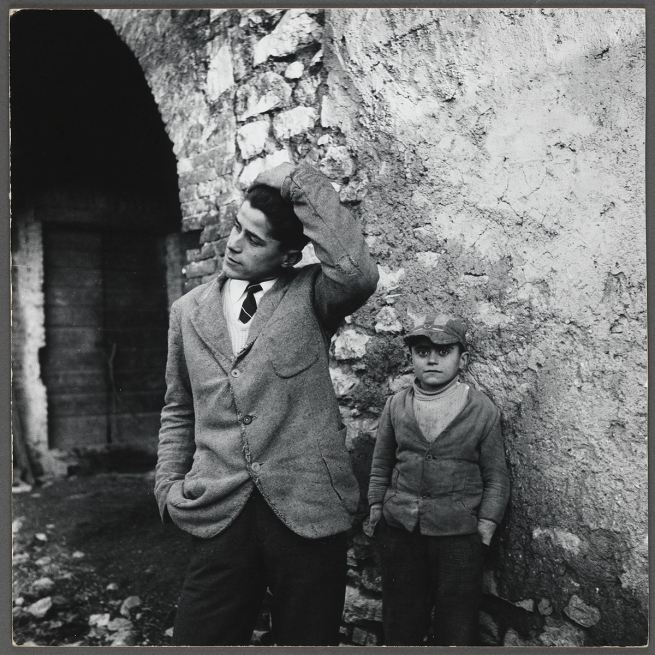 Peter Hujar (American, 1934-1987) 'Young Man and Boy, Italy' 1958