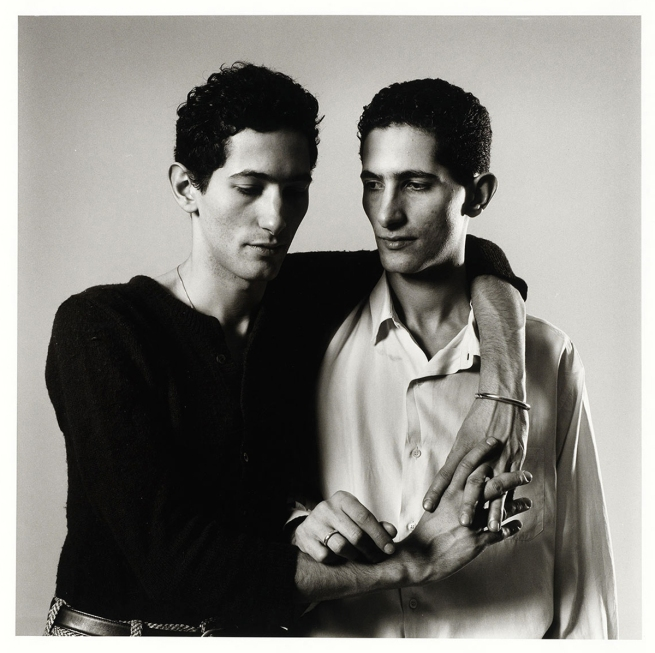 Peter Hujar (American, 1934-1987) 'Zachy and Gamal Sherif (Twins)' 1985
