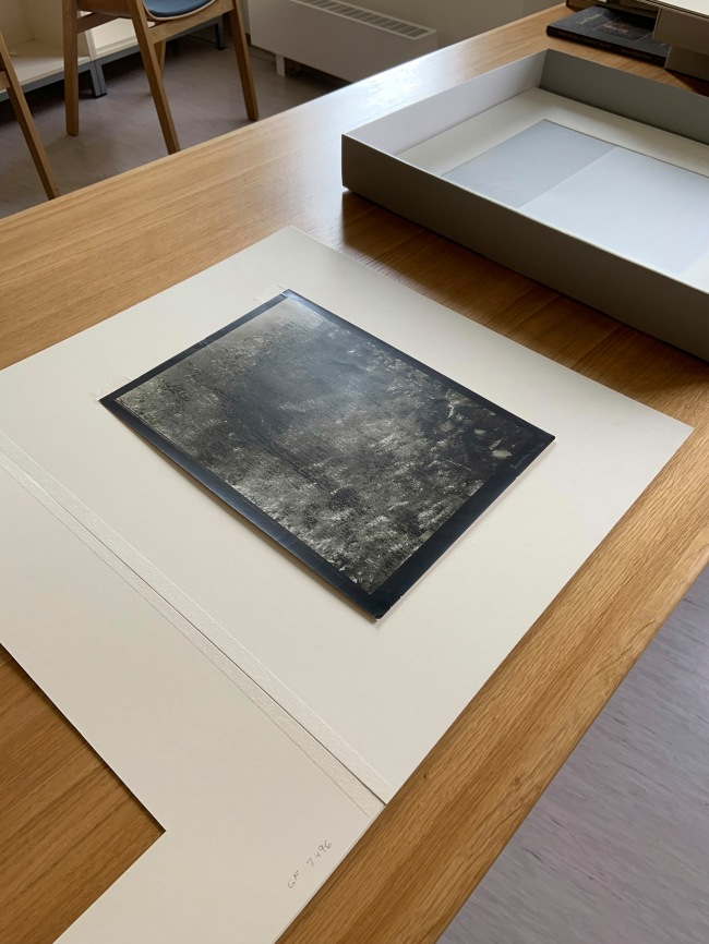 Josef Sudek (Czech, 1896-1976) 'The Window of My Studio, Prague' 1944-1953