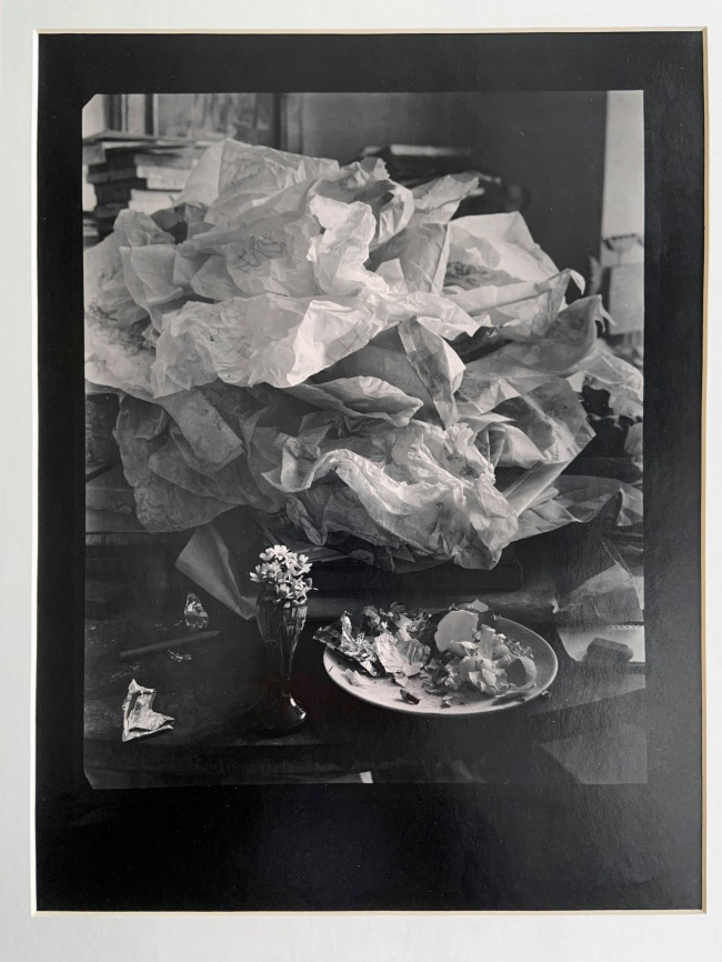 Josef Sudek (Czech, 1896-1976) 'Labyrinth on My Table' 1967