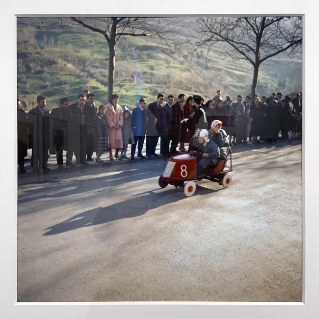 Jacques Henri Lartigue (1894-1986) 'Ascoli Piceno, Italy 1958'(installation view)