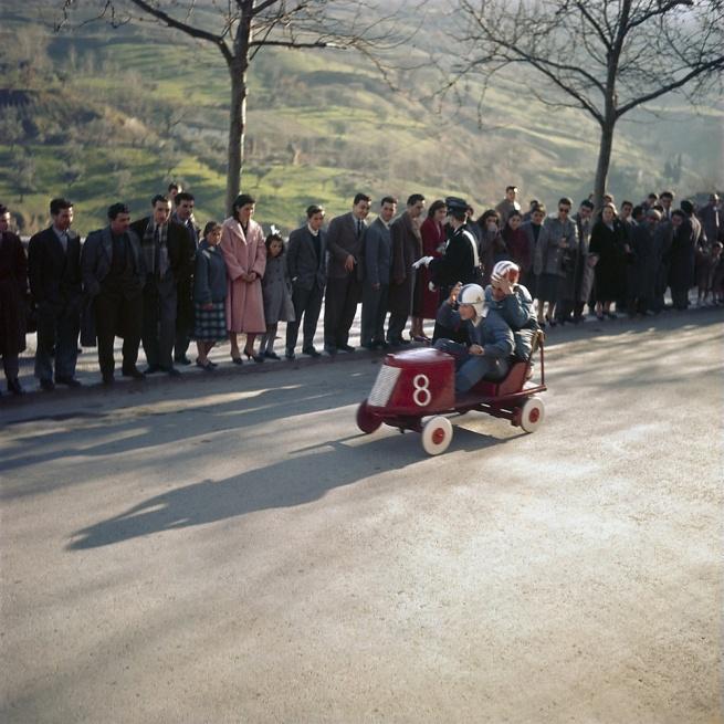 Jacques Henri Lartigue (1894-1986) 'Ascoli Piceno, Italy 1958'