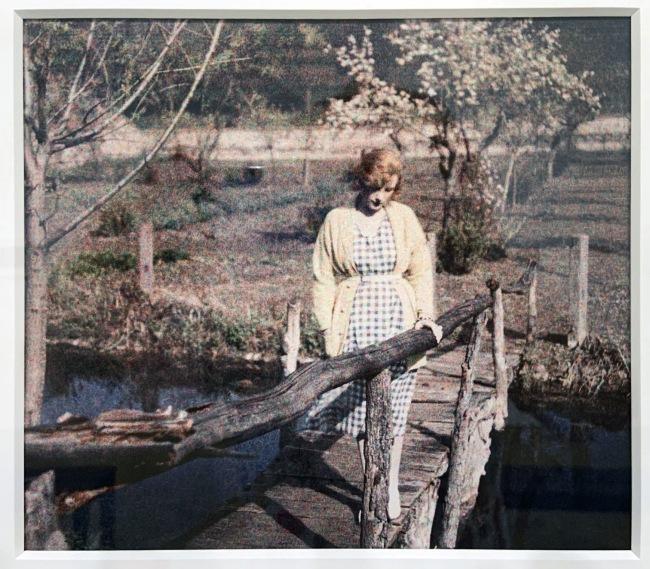 Jacques Henri Lartigue (1894-1986) 'Bibi' Rouzat, France, 1920(installation view)