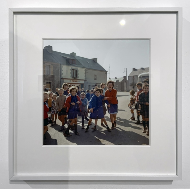 Jacques Henri Lartigue (1894-1986) 'Bretagne, France, 1965'(installation view)
