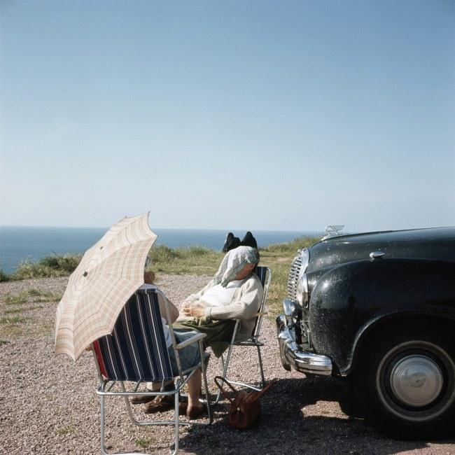 Jacques Henri Lartigue (1894-1986) 'Brittany, 1960'