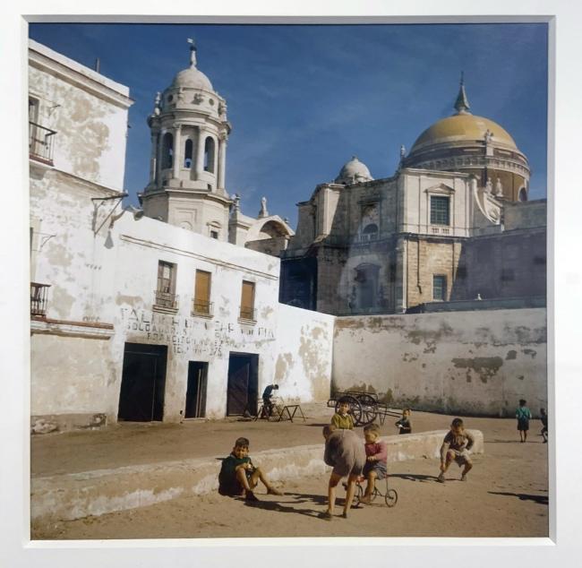 Jacques Henri Lartigue (1894-1986) 'Cádiz, Spain, 1957' (during his trip to Cuba)(installation view)