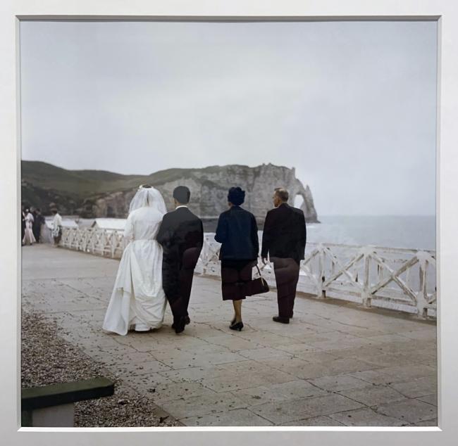 Jacques Henri Lartigue (1894-1986) 'Étretat, France, June 1960'(installation view)