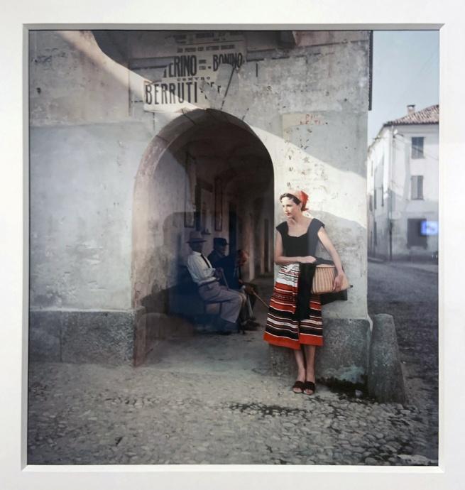 Jacques Henri Lartigue (1894-1986) 'Florette' Piozzo, Italy, 1960(installation view)