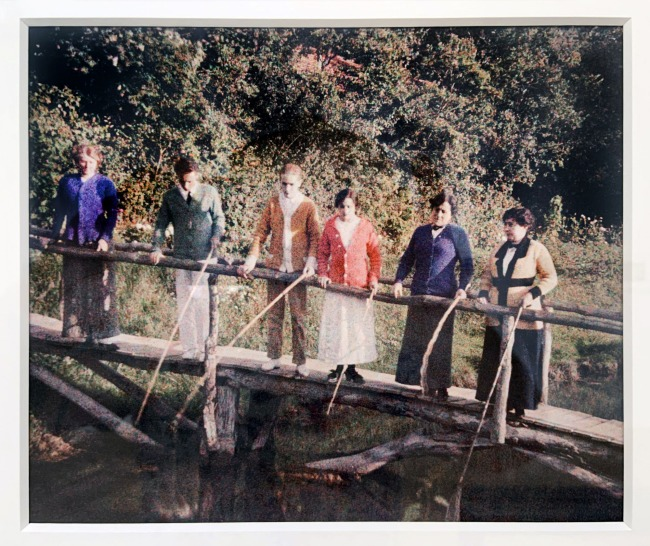 Jacques Henri Lartigue (1894-1986) 'Mrs Folletête, Rico, me, Sim, Manik and Mummy' Rouzat, France, September 16, 1913(installation view)
