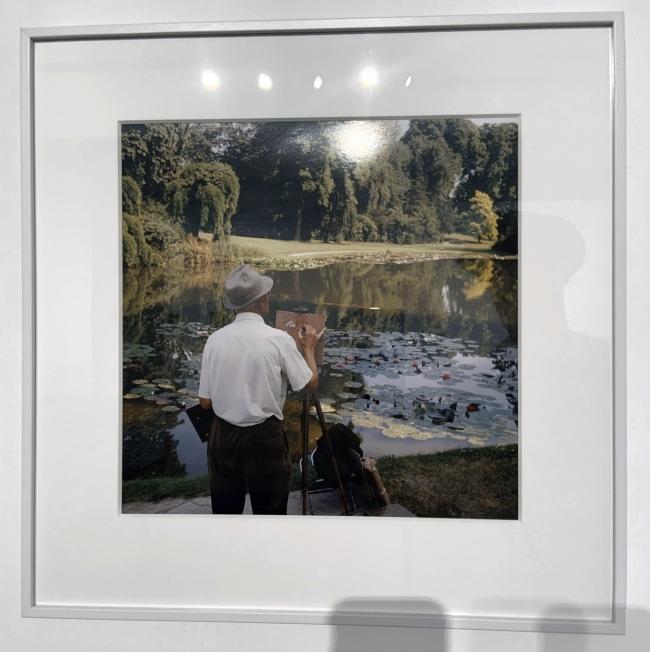 Jacques Henri Lartigue (1894-1986) 'Park Bagatelle, Paris, France, June 1960'(installation view)