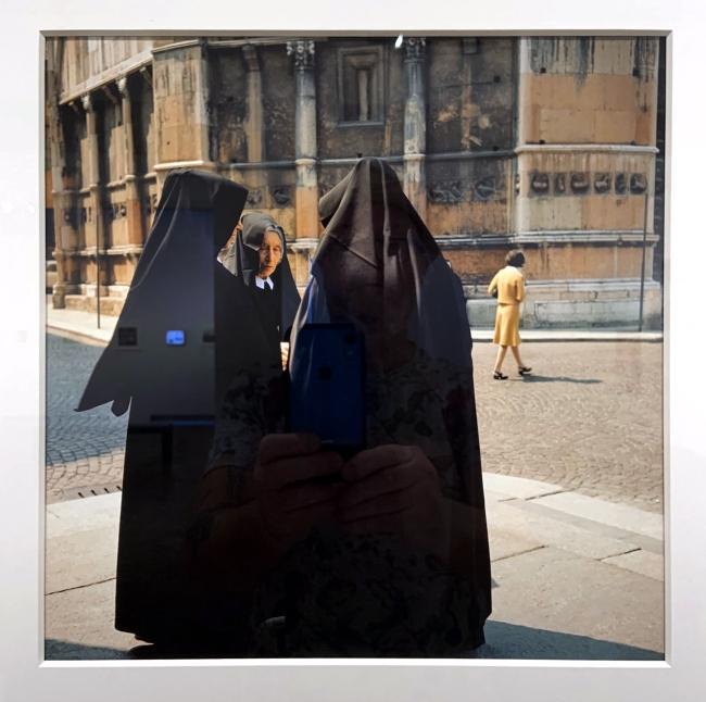 Jacques Henri Lartigue (1894-1986) 'Parma, Italy 1965'(installation view)