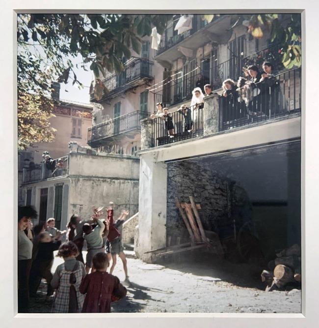 Jacques Henri Lartigue (1894-1986) 'Saint-Dalmas de Tende France, 1958'(installation view)
