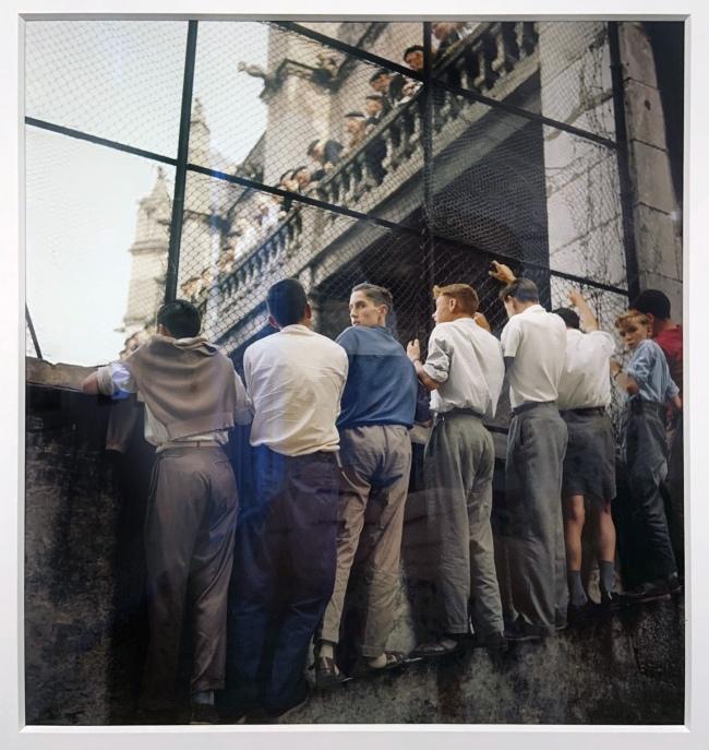 Jacques Henri Lartigue (1894-1986) 'San Sebastian, Spain, 1958' (installation view)