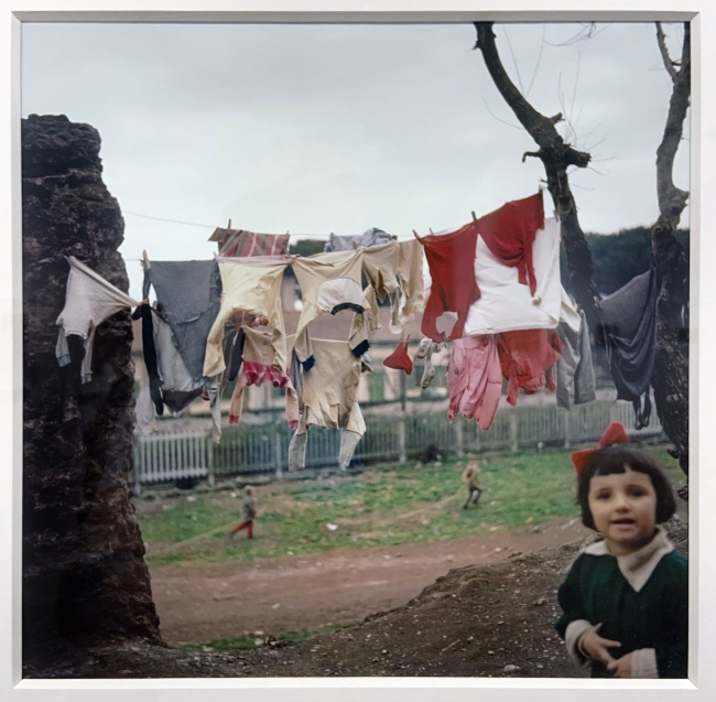 Jacques Henri Lartigue (1894-1986) 'Via del Mandrione, Rome, Italy 1958'(installation view)