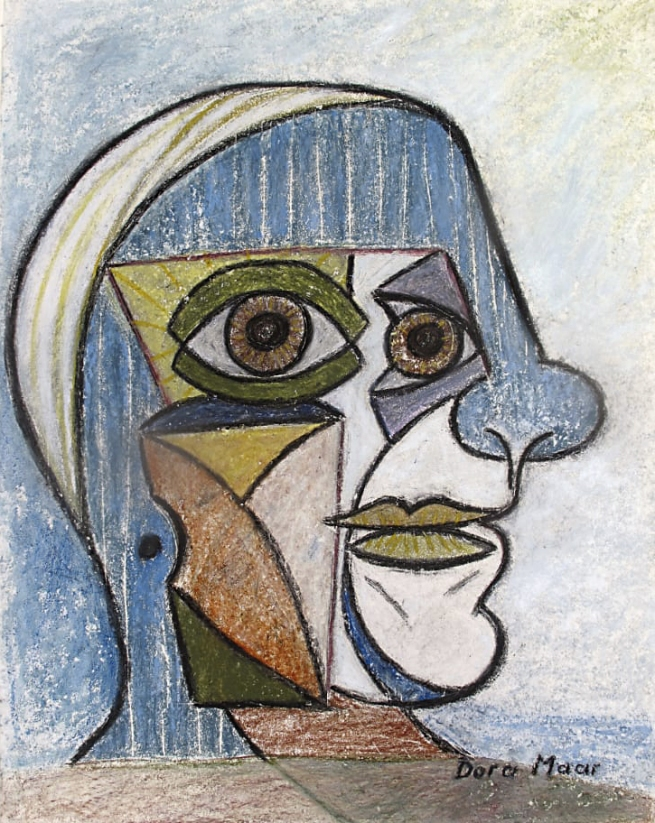Dora Maar (French, 1907-1997) 'Portrait of Pablo Picasso' 1936