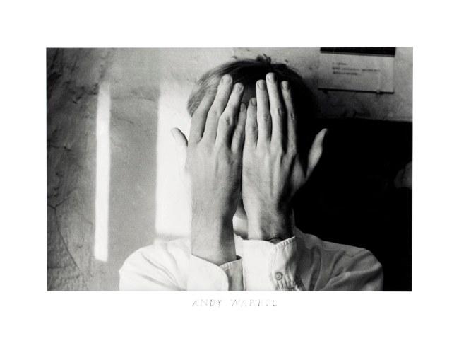 Duane Michals (American, b. 1932) 'Andy Warhol' 1958