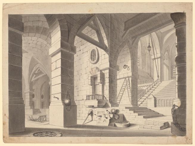 N. Institoris (d. 1845) 'Interior of a Prison' c. 1825-45