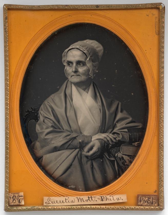 Marcus Aurelius Root (American, 1808-1888) 'Lucretia Coffin Mott' 1851