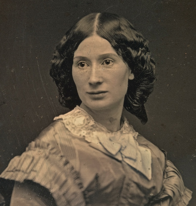 Rufus Anson. 'Laura Keene' c. 1855 (detail)